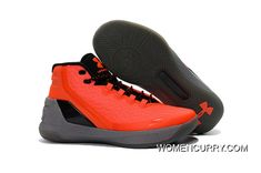 8454aa323831 Cheap Under Armour Curry 3 Orange Black Grey Discount