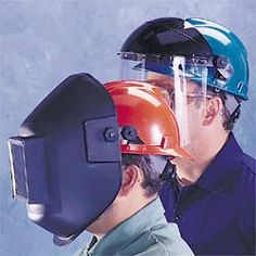 MSA Part Slotted lugs adapter kit. Lugs only for V-gard and other slotted hardhats. Allows welding helmet to be attached & detached quickly from hardhat. Welding helmet not included. Welding Gear, Welding Helmet, Hard Hats, Visors, Slot, Cap, Products, Baseball Hat, Helmets