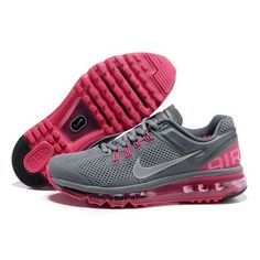 cool nike shoes for women | Magnificent Nike Air Max 2013 Women Running Shoes Cool Grey/Peach 1018 ...