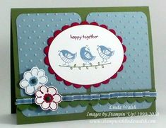 So Happy using Stampin Up Happy Together.