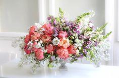 peony bloom, floral design, floral arrangement