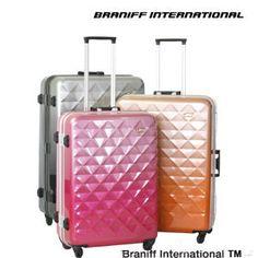 BRANIFF INTERNATIONAL  suitcase  gradation color