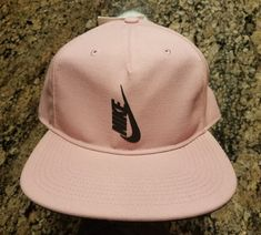 454df0e70cf87 Nike NIKELAB Essentials Pro Acronym Snapback Hat Pink 882730 678  Nike   Snapback Snapback Hats