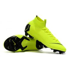 c8f3640ff6ea Nike Kids Mercurial Superfly VI Elite FG Sock Football Boots - Volt Black  are here waiting for you! Get new football boots with low shipping costs!