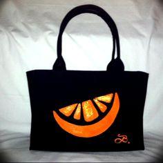 """Orange slice""- Bella Iza Bags"