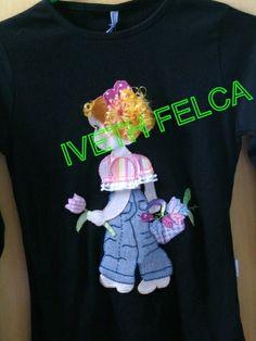 Camiseta patch apliqué