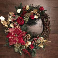Christmas Wreaths for Front Door Holiday Door Wreath Holiday