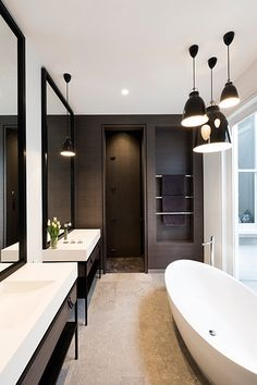 Modern - #bathroom #bath #so                                                                                                                                                     More