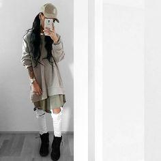 Pinterest @SoniaEjemai Tomboy Fashion, Dope Fashion, Teen Fashion Outfits, Dope Outfits, Swag Outfits, Simple Outfits, Outfits For Teens, Girl Fashion, Ghetto Outfits