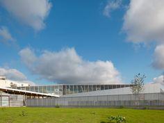 Le Bourget School by Hubert & Roy Architectes et Associés