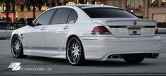 BMW E65 7 series white