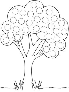 12 Spring Do-A-Dot Printables Preschool Writing, Numbers Preschool, Preschool Learning, Craft Activities For Kids, Kindergarten Activities, Toddler Activities, Preschool Activities, Easy Art For Kids, Printable Preschool Worksheets