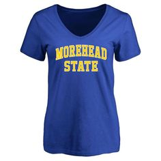 Morehead State Eagles Women's Everyday Slim Fit T-Shirt - Royal - $21.99
