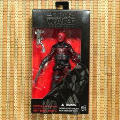 "Disney Hasbro Star Wars The Black Series 6"" #08 Guavian Enforcer Death Gang #Hasbro"