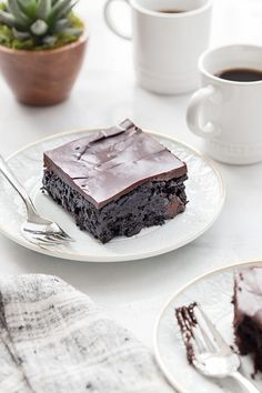 Chocolate Zucchini Cake is rich, ultra-moist and the perfect cake for the chocolate lover in your life. Serve it up with a mug of your favorite coffee!