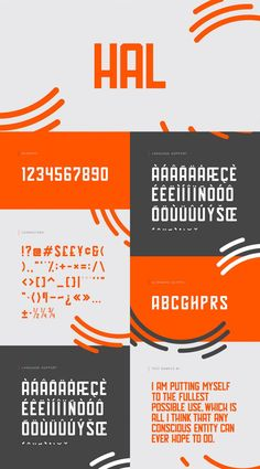 Hal: A Free Typeface Inspired by A Space Odyssey | The Creative Feed