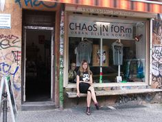 oooh this was my favorite shop in berlin :) i've been here in october and bought the neon tanktop :) andalso the watches so nice..I love this shop !!