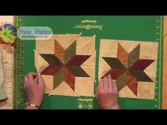 Sew Easy Lesson: How-to make a Rapid Fire Lemoyne Star