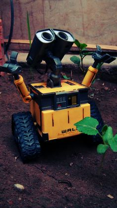 Wall E robot <3 #wall-e