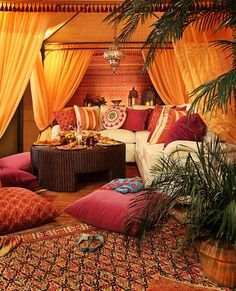 15 Outstanding Moroccan Living Room Designs An instant way to create authenticity to your Moroccan-inspired living room is to add kilim rugs and pillows. The wool and flat weave method means that