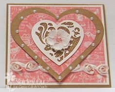 Made for Classy Cards N Such.  For details go to Classy Cards N Such.com. (Burlap Heart)