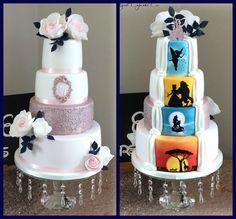 Hidden Disney themed wedding cake disney hidden themed wedding Genel is part of Disney wedding cake - Before Wedding, Our Wedding, Dream Wedding, Wedding Disney, Wedding Ideas, Disney Themed Weddings, Xbox Wedding, Disney Inspired Wedding Dresses, Comic Wedding