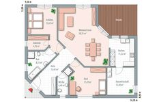 Sims House Design, Bungalows, Sweet Home, Floor Plans, Home And Garden, Houses, How To Plan, Future, Cool Stuff