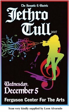 Jethro Tull - 05.12.07 NEWPORT NEWS VA. - THE FERGUSON CENTER FOR THE ARTS, USA