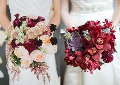 букет невесты пионы бордово-малиновые с белым - Поиск в Google