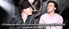And then admitted his ulterior motive. | 19 Times McAvoy And Fassbender Were The Definition Of Friendship Goals