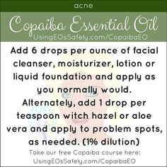 Using Copaiba Essential Oil Safely Essential Oils For Skin, Young Living Essential Oils, Essential Oil Diffuser, Essential Oil Blends, Frankincense Essential Oil Uses, Home Remedies For Acne, Natural Remedies, Copaiba Oil, Eos