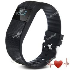 New TW64 Smart Wristband Heart Rate Monitor Bluetooth 4.0 IP67 Waterproof Bracelet Sports & Sleep Tracking Fitness E-502637