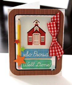 Cute for Teacher thank you or for your child with a good report card!