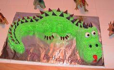 Dinosaur Cake....Dare I do it?