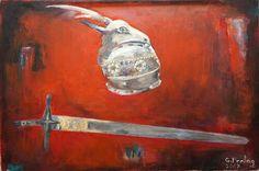 Schwert und Helm Skanderbegs, Gazmend Freitag