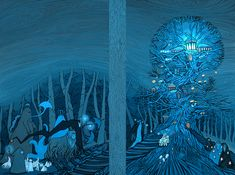 Fairyland. Love this woman's art. Beyond The Gate by yanadhyana