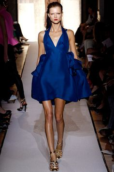 Yves Saint Laurent. Paris Fashion Week, primavera verano 2012.