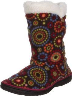 ACORN Peek-A-Boot C Slipper (Toddler/Little Kid/Big Kid) ACORN. $7.99. Rubber sole. Machine washable. synthetic