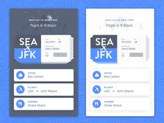 Travel UI - New York Trip by Shea Lewis for Knife & Fox