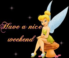 With Tenor, maker of GIF Keyboard, add popular Happy Weekend animated GIFs to your conversations. Share the best GIFs now >>> Tinkerbell Pictures, Tinkerbell And Friends, Tinkerbell Disney, Tinkerbell Fairies, Peter Pan And Tinkerbell, Flower Fairies, Disney Fairies, Bon Weekend, Weekend Gif