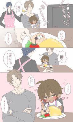 埋め込み画像 Anime Stories, Fanart, Touken Ranbu, Cute Love, Cute Art, Kawaii, Manga, My Favorite Things, Illustration