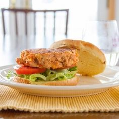 Healthy Aperture - Salmon Burgers