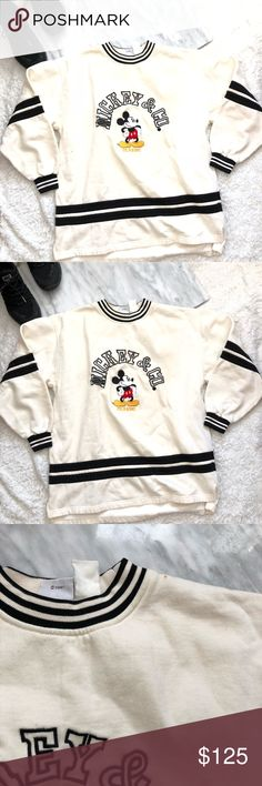 7aba3318a575 Disney Mickey & co long sleeve vintage Vintage so it does have some wear /  small stains but nothing to make it unwearable not sure I want to let go ...