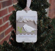 Creative Chat Blog: Vintage Christmas Tags