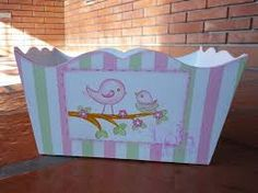 Resultado de imagen para portacosmeticos para bebe Happy Pregnancy, Baby Born, Painting On Wood, Toy Chest, Decoupage, Shabby Chic, Baby Shower, Storage, Furniture
