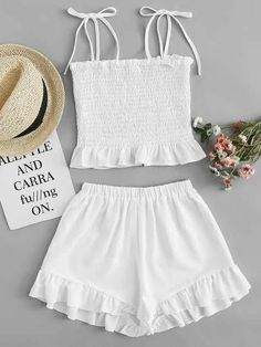 4 Beach Outfit Trends You Don't Want To Miss This Summer, Summer Outfits, Beach Outfit Trends You Don't Want To Miss This Summer. Girls Fashion Clothes, Teen Fashion Outfits, Girl Fashion, Girl Outfits, Cute Comfy Outfits, Cute Summer Outfits, Trendy Outfits, Beach Outfits, Outfit Beach