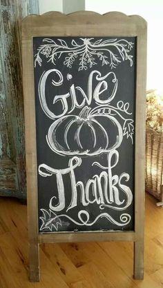 Give Thanks (chalkboard)