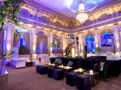 Its stunning Grand Ballroom soon set the scene for some of entertainment's most famous events and wildest parties.
