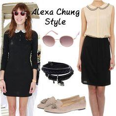 Stil ikonlarından Alexa Chung gibi siz de cool görünümünüzü yuvarlak güneş gözlükleri ile tamamlamaya ne dersiniz? www.boyner.com.tr #love #fashion #style