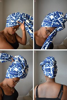 Natural Belle: The Tutorial: The Obnoxious Turban
